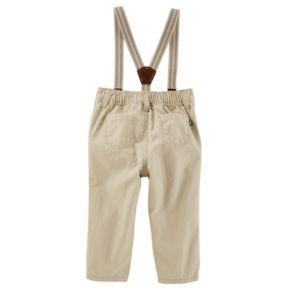 Baby Boy OshKosh B'gosh® Suspender Jogger Pants