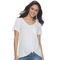 Juniors' SO® Relaxed Pocket Tee