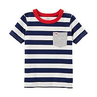 Toddler Boy Carter's Striped Pocket Tee