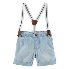 Baby Boy OshKosh B'gosh® Suspender Shorts