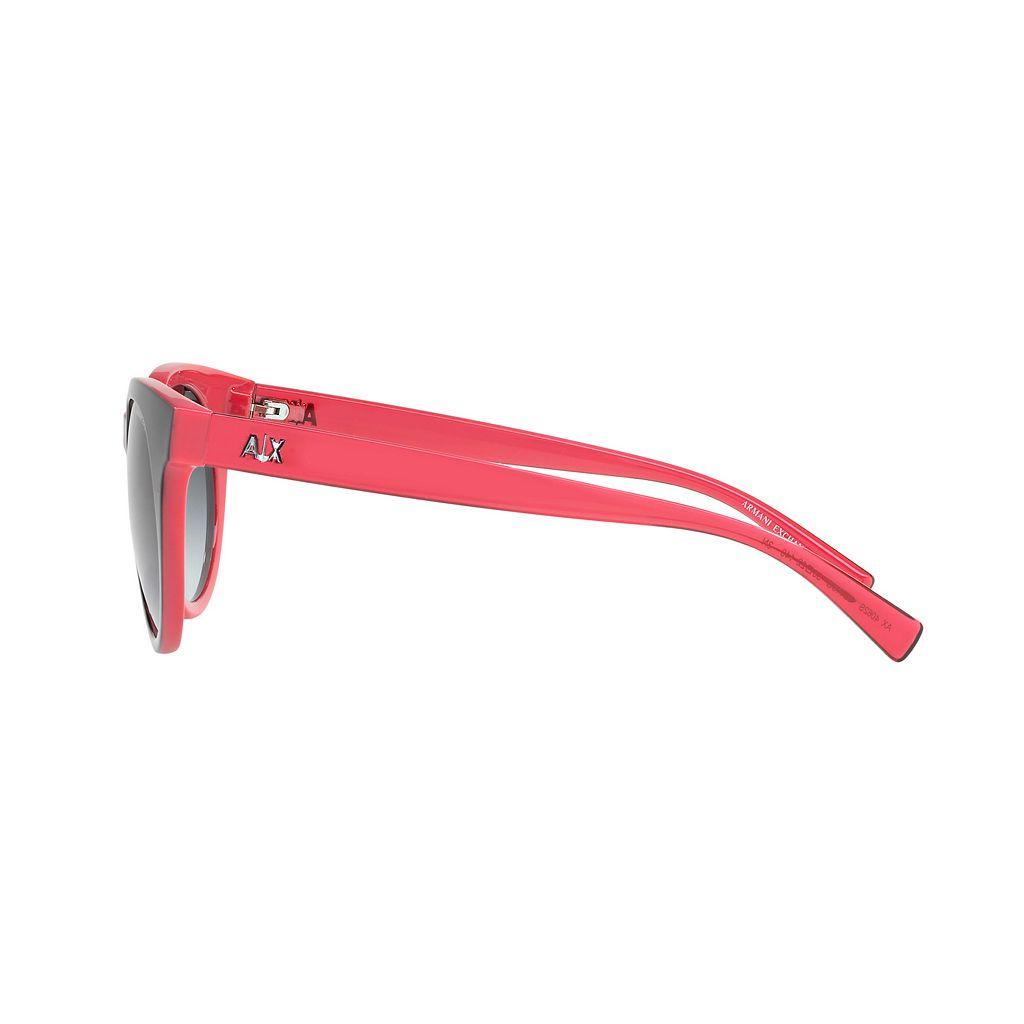 Armani Exchange AX4062S 50mm Rectangle Gradient Sunglasses