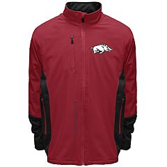 Men's Franchise Club Arkansas Razorbacks Apex Softshell Jacket