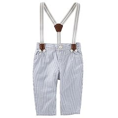 Baby Boy OshKosh B'gosh® Striped Suspender Pants