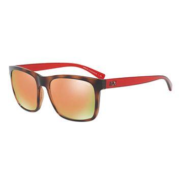 Armani Exchange AX4063S 57mm Square Mirror Sunglasses