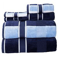 Portsmouth Home Oakville Velour 6-piece Bath Towel Set