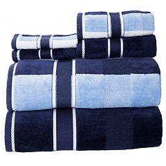 Portsmouth Home Oakville Velour 6-piece Bath Towel Set
