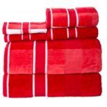 Portsmouth Home Oakville Velour 6 pc Bath Towel Set