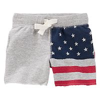 Baby Boy OshKosh B'gosh® American Flag Knit Shorts