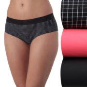 Women's New Balance 3-pack Premium Performance Boyshort Panties NB4056-3