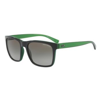 Armani Exchange AX4063S 57mm Square Gradient Sunglasses