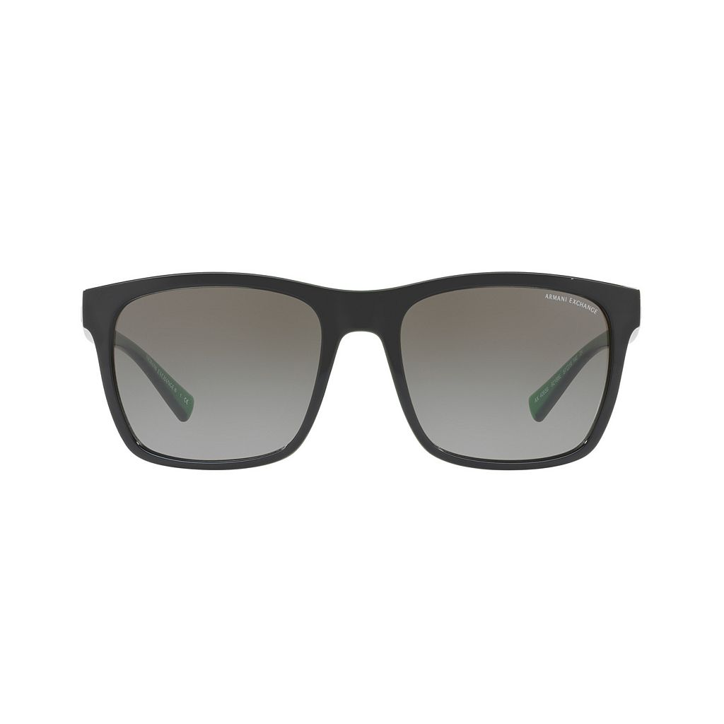 Armani Exchange AX4063S 57mm Square Gradient Sunglasses