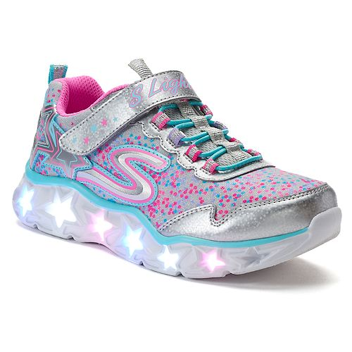 new style 6043c 4bc12 Skechers S Lights Galaxy Lights Girls  Light Up Shoes
