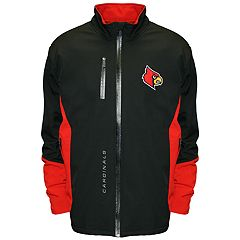 Men's Franchise Club Louisville Cardinals Apex Softshell Jacket
