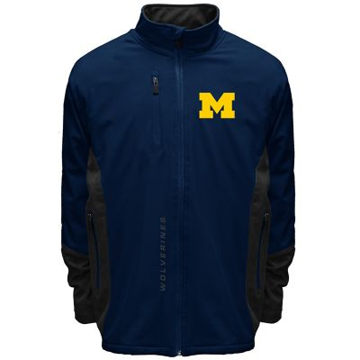 Men's Franchise Club Michigan Wolverines Apex Softshell Jacket