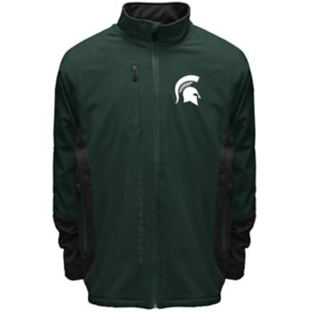 Men's Franchise Club Michigan State Spartans Apex Softshell Jacket