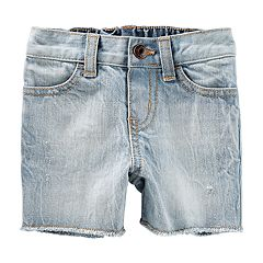 Baby Boy OshKosh B'gosh® Washed Cut Off Denim Shorts