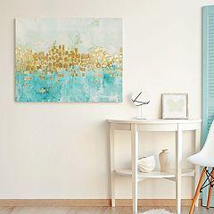 Artissimo Designs Dancing Stars Canvas Wall Art
