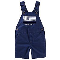 Baby Boy OshKosh B'gosh® Flag Shortalls
