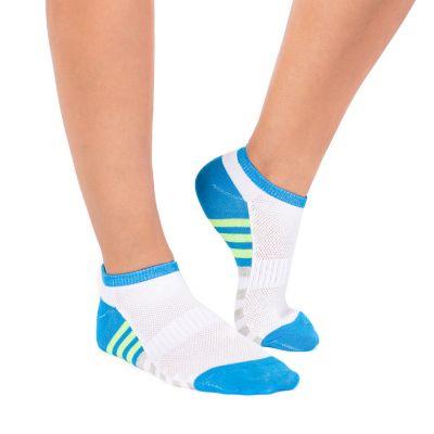 Women's MUK LUKS 6-pk. Compression No-Show Socks