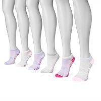 Women's MUK LUKS 6-pk. Compression No-Show Socks