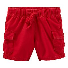 Baby Boy OshKosh B'gosh® Red Cargo Shorts