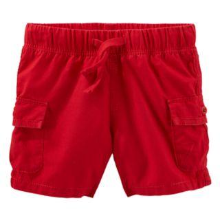 Baby Boy OshKosh B'gosh® Red Cargo Shorts