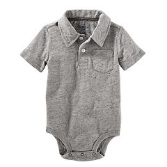 Baby Boy OshKosh B'gosh® Nep Polo Bodysuit