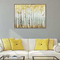 Artissimo Designs Soft Birch Canvas Wall Art