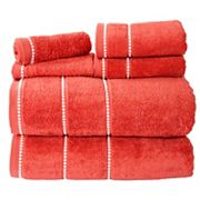 Portsmouth Home Quick Dry 6 pc Bath Towel Set