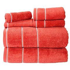 Portsmouth Home Quick Dry 6 pc Bath Towel Set
