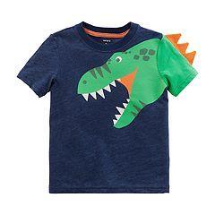 Toddler Boy Carter's 3D Dinosaur Spike Tee