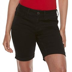 Juniors' SO® Low-Rise Bermuda Shorts