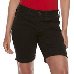 Juniors' SO® Low-Rise Bermuda Shorts