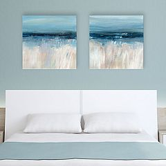 Artissimo Designs On the Severn Canvas Wall Art 2-piece Set