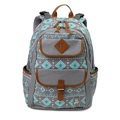 BB Gear by Baby Boom Geometric Tribal Backpack Diaper Bag