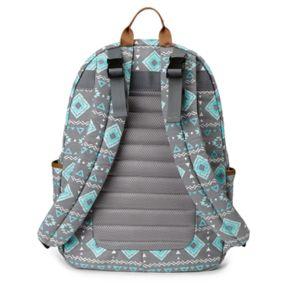 BB Gear by Baby Boom Geometric Tribal Backpack Diaper Bag