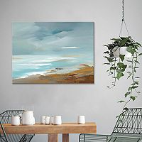 Artissimo Designs Seaside Coast Canvas Wall Art