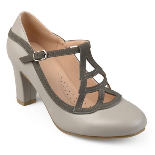 Journee Collection Nile ... Women's High Heel Mary Jane Shoes
