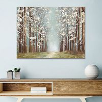 Artissimo Designs Apple Orchard Canvas Wall Art