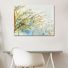 Artissimo Designs Windblown Canvas Wall Art