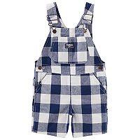 Baby Boy OshKosh B'gosh® Checker Shortalls