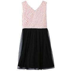 Girls 7-16 Speechless Lace Mesh Dress
