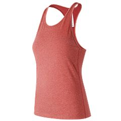Women's New Balance Heather Tech Racerback Tank