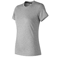 Women's New Balance Heather Tech Short Sleeve Tee