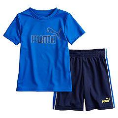 Boys 4-7 PUMA Graphic Tee & Shorts Set