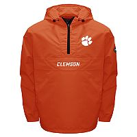 Men's Franchise Club Clemson Tigers Swift Pullover Jacket