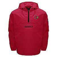 Men's Franchise Club Louisville Cardinals Swift Pullover Jacket