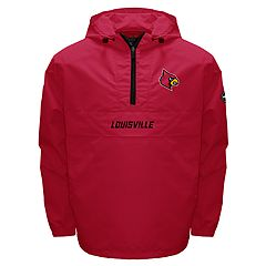Men's Franchise Club Louisville Cardinals Swift Pullover Jacket