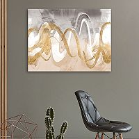 Artissimo Designs Infinite Swirl II Canvas Wall Art