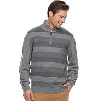 Men's Haggar Regular-Fit Birdseye Striped Sweater